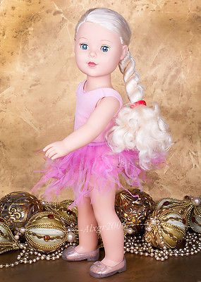 Madame-Alexander-My-Life-As-Ballerina-Doll-18-light-skin-blue-eyes-blond-hair