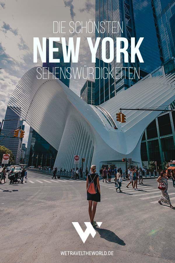 New York Reise: Wir haben dir in unserem ultimativen New York City Guide 61 fantastische New York Sehenswürdigkeiten und Highlights aufgeschrieben. Außerdem geben wir dir noch New York Restaurant Tipps und auch Inspiration für New York Hotels #citytrip #städtereise #usa #nordamerika #newyorkcity