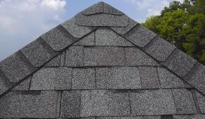 One Of The Many Styles Of Shingles Offered At Ampro Roofing Solutions To Learn More Visit Us At Http Amproroofing Com Roof Shingles Hip Roof Roofing