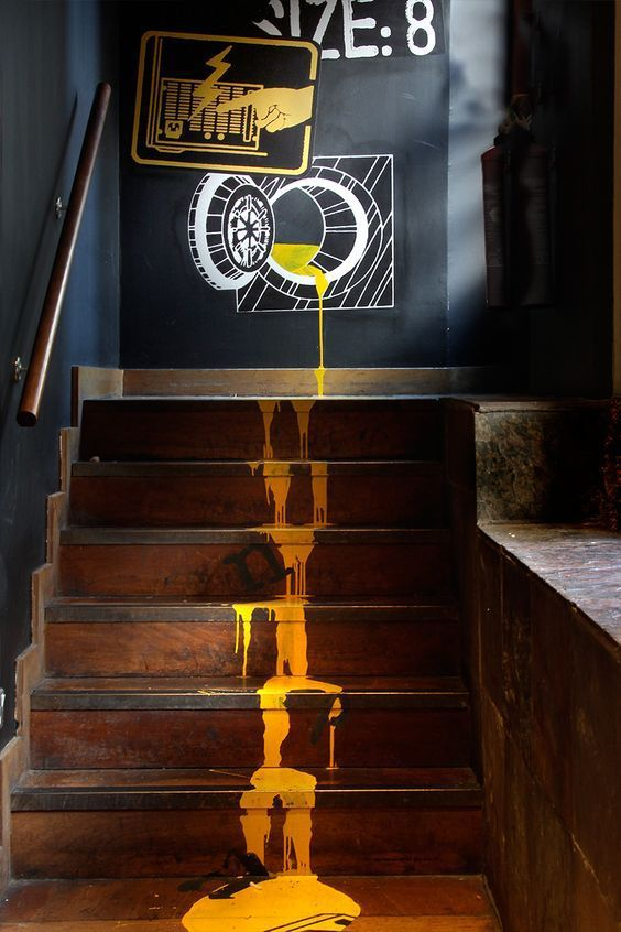 Ordinaire 23 Cool And Creative Best Paint Staircase Ideas U0026 Pictures   Stairs    Pinterest   Staircases, Painted Staircases And Staircase Ideas