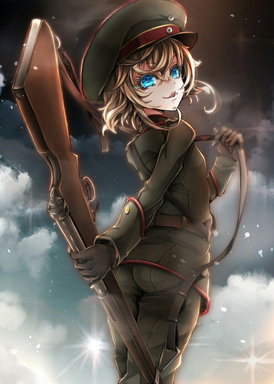 Tanya degurechaff anime pinterest anime