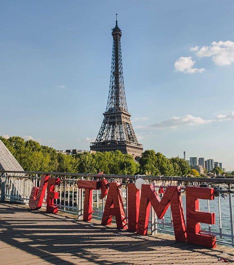 """Explore Paris on Instagram: """"Je t'aime Paris❤️ —— 📸: @javiernapi . . . #parisjetaime #travel #paris #parisfrance #parisian #parisienne #paristourisme #parismylove…"""""""