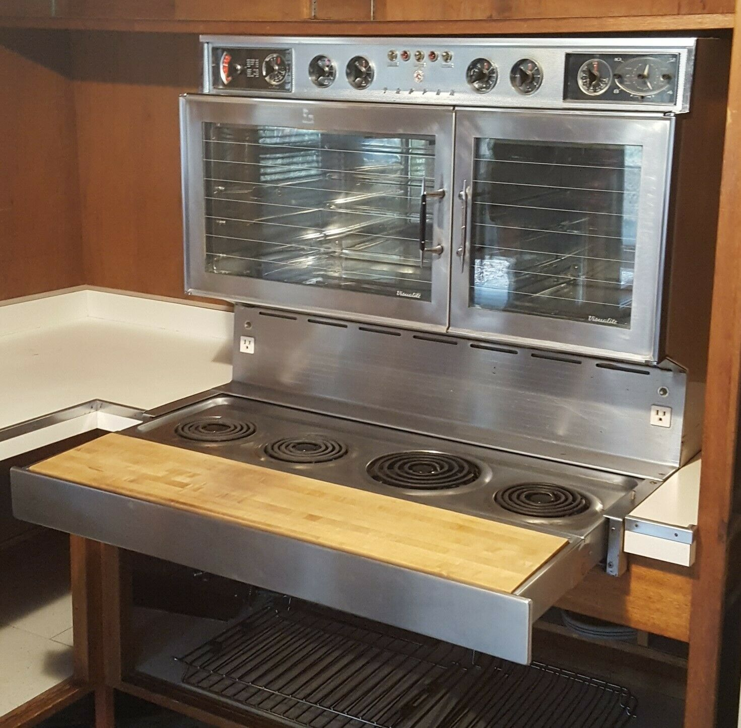 Tappan Visualite 442 Electric Range Oven Rotisserie 2nd Gen Fabulous 400 Ebay Wall Oven 24 Inch Gas Wall Oven Gas Wall Oven