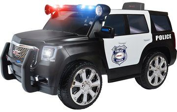 Rollplay Gmc Yukon Denali Police Suv 6 Volt Battery Powered Ride On Toy Cars For Kids Toy Police Cars Toy Fire Trucks