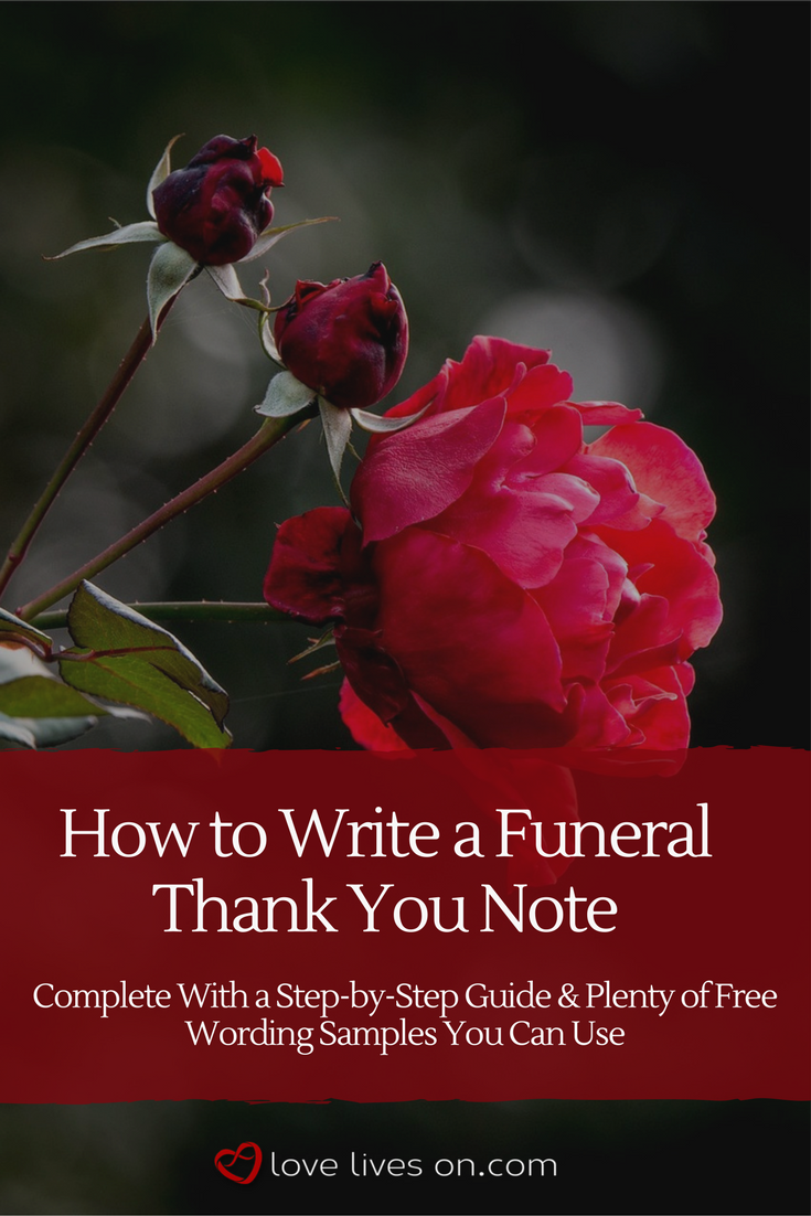 33 Best Funeral Thank You Cards Pinterest Funeral And Note