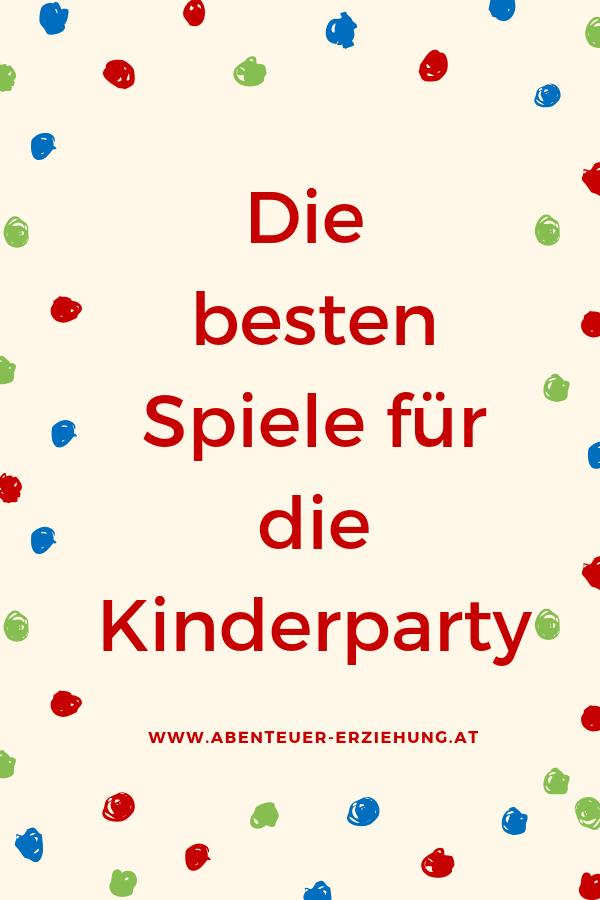 Spiele für die Kinderparty #festmad