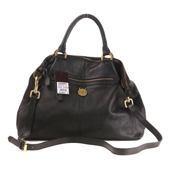 Mulberry Somerset Shopper Black Women's Bag Outlet
