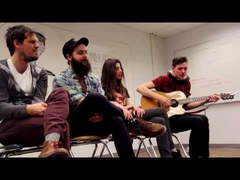 """▶ Houndmouth """"Palmyra"""" (Lawrence High School Classroom Sessions Pt.4) -"""