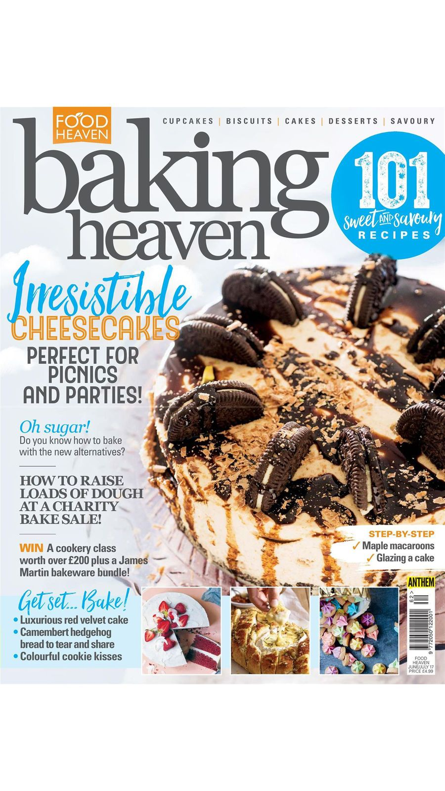 Cupcake Heaven DrinkampMagazinesios Baking magazines