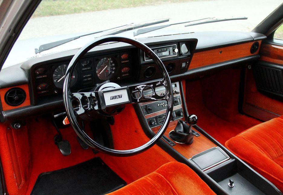Fiat 130 Coupe Interior Fiat Fiat Cars Coupe