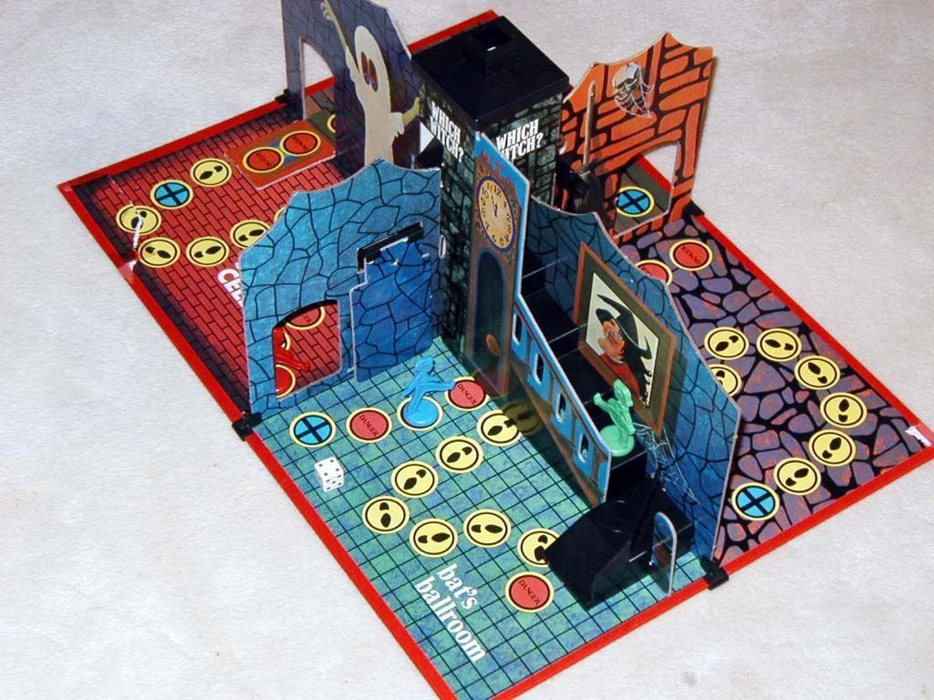 The ultimate kids' 3D haunted house game, Which Witch? by