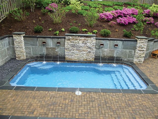50 Smallest Fiberglass Pools Ideas Small Fiberglass Pools
