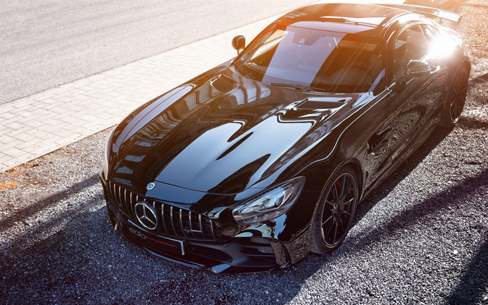 Download Wallpapers Edo Competition Mercedes Amg Gt R 4k 2018 Cars C190 Tuning Mercedes Amg Gt R Supercars Mercedes Besthqwallpapers Com Mercedes Amg Carros Mercedes