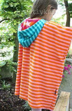 kreativkäfer: Badeponcho ♥ | SEW | Kinderkleidung | Sewing ...