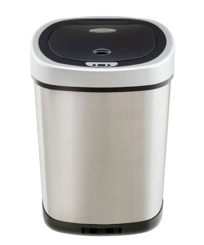 10 Best Stainless Steel Trash Cans For Your Kitchen For 2020 Trash Can Garbage Can Kitchen Trash Cans