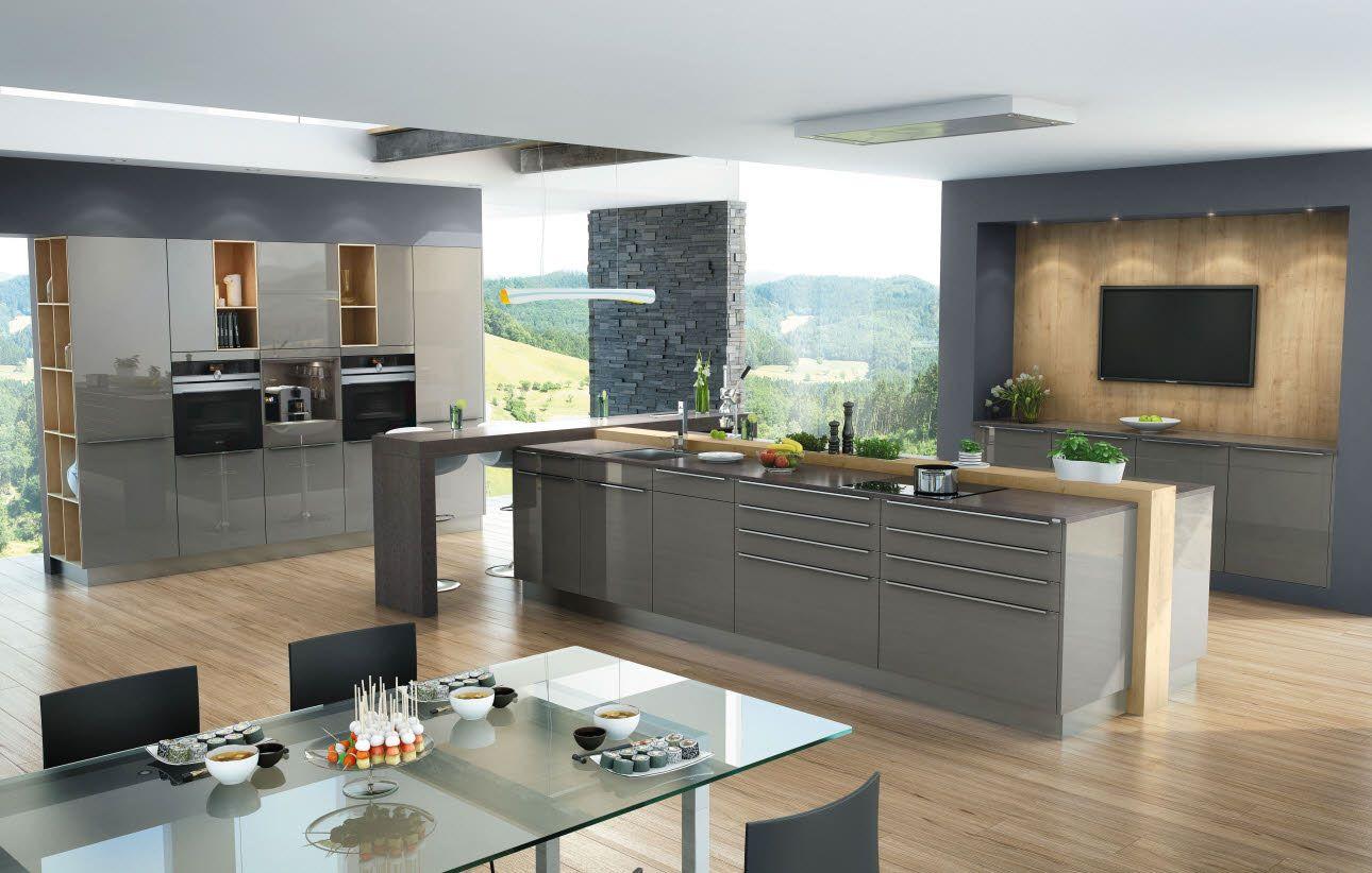 Dura quarz, kombiniert mit wildeiche | Küche | Pinterest | Küche ...