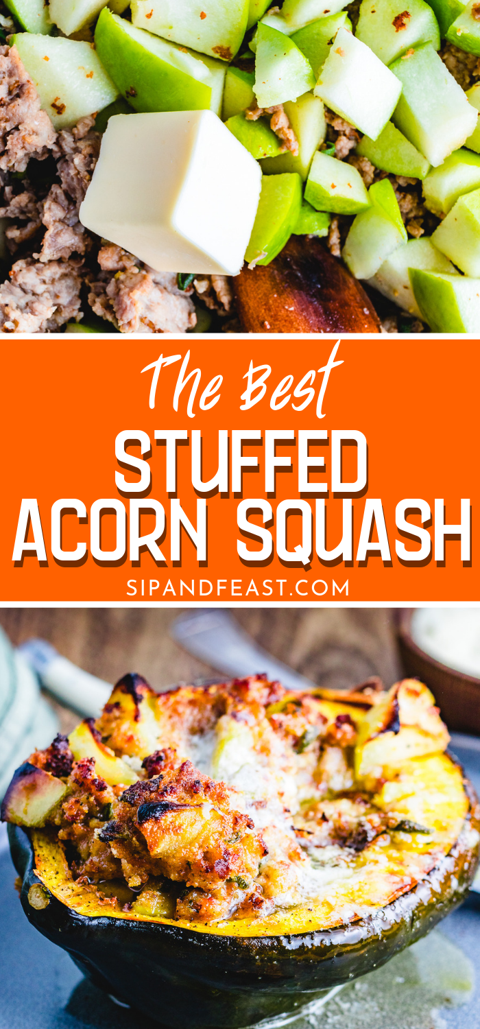 Stuffed Acorn Squash Make The Perfect Thanksgiving Holiday Or Fall