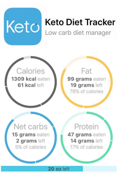 Keto Diet Tracker Diet Tracker Counter App Carb Counter
