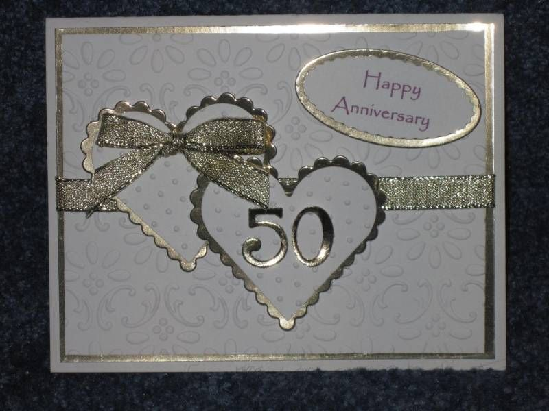 Golden Anniversary By Beechwood Cards And Paper Crafts At