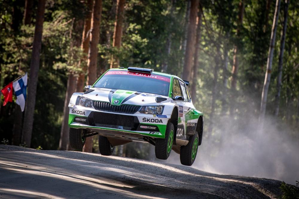 Category/skoda >> Rally Sweden Skoda Motorsport S Kalle Rovanpera Chases Lead