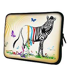 Elonno Butterfly Zebra Neopreeni Laptop Sleeve Case