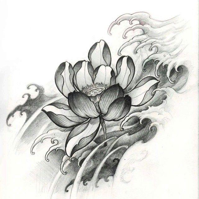 Lotus Lotus Tattoo Asiantattoo Asianink Lotus Tattoo Lotus Flower Tattoo Design Japanese Tattoo Designs