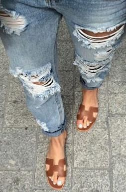 032b12cdb029 HERMES Oran sandals … | looks in 2019…