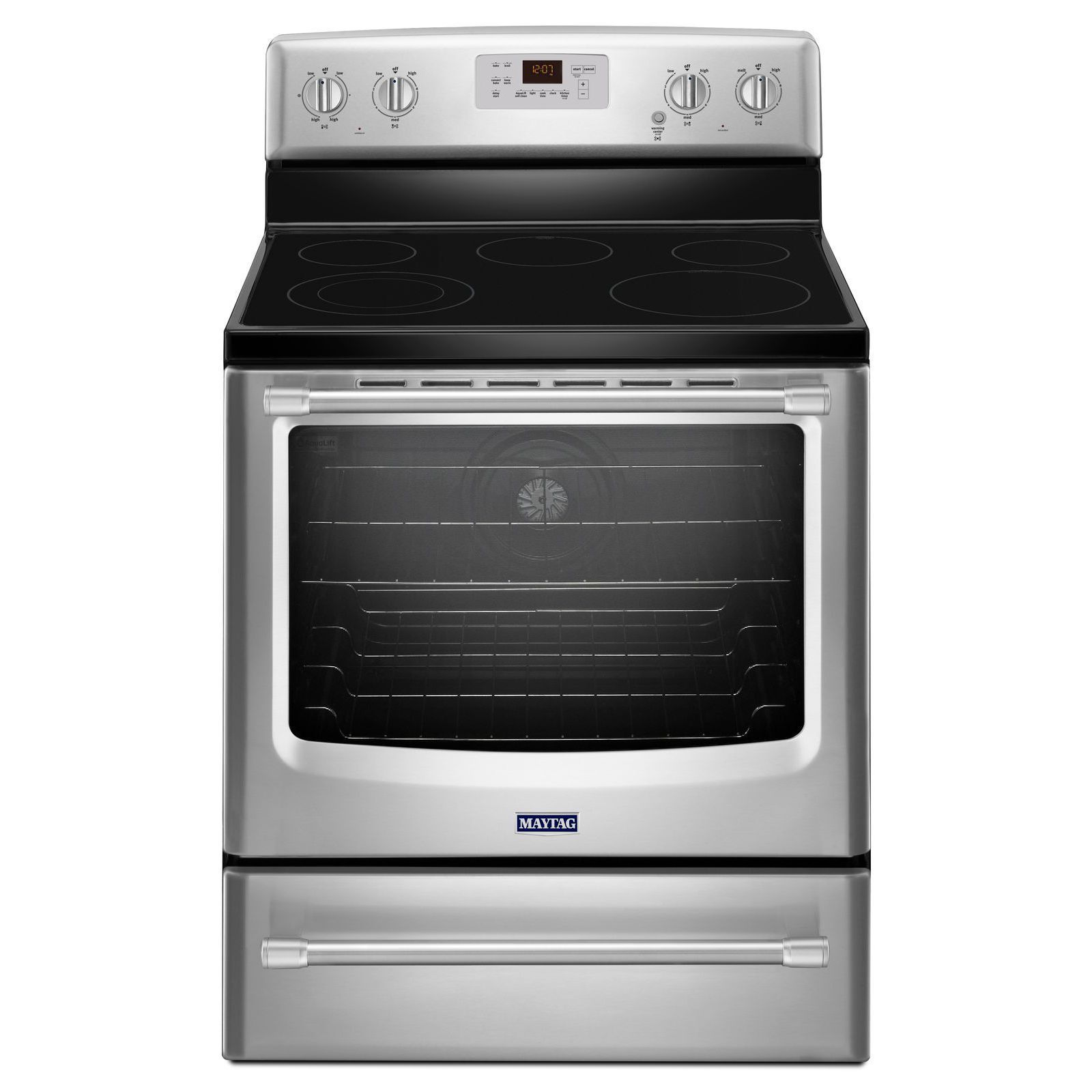 Maytag® 30−inch Wide Electric Range with Convection and