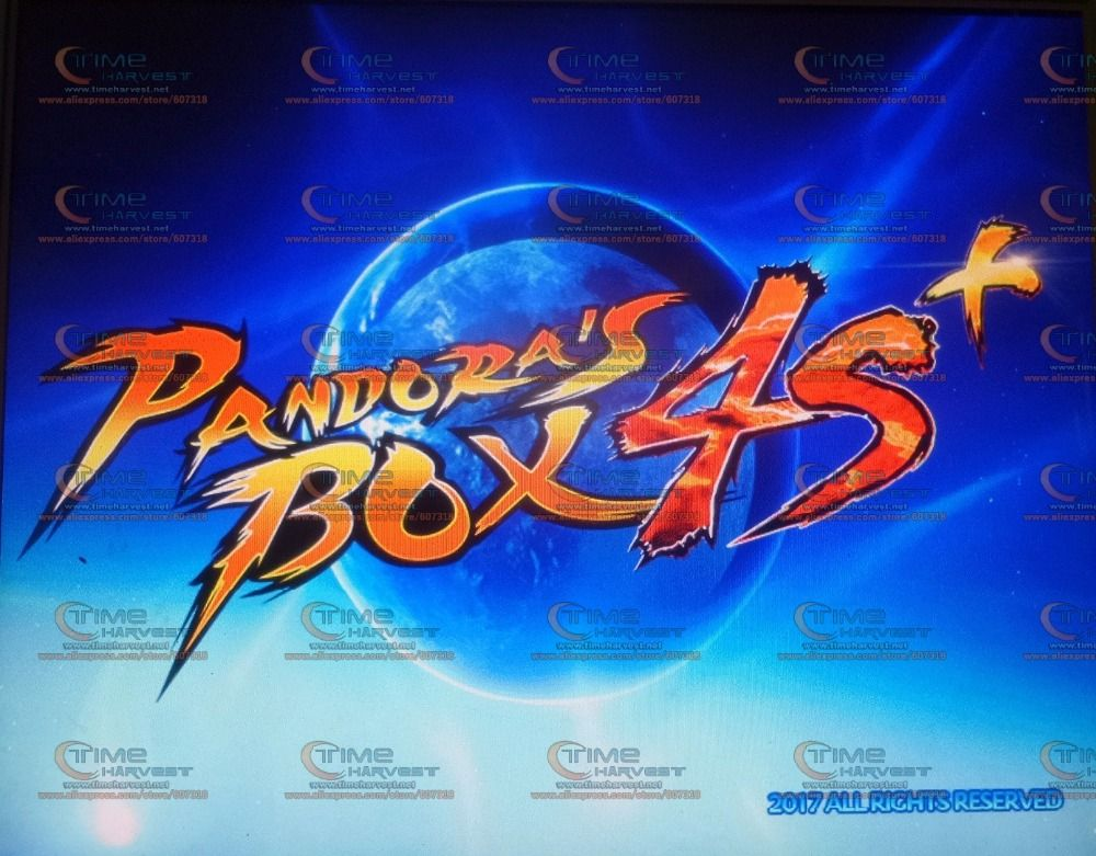 Free shipping Pandora Box 4S multi games 815 in 1 PCB with Jamma