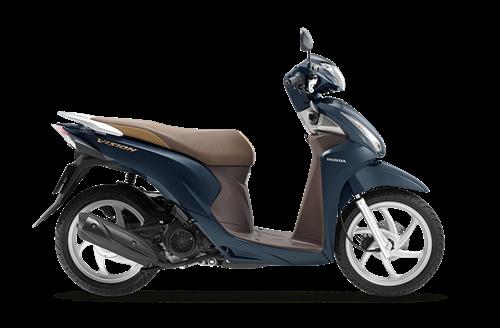 Xe Honda Vision Tại Honda Song Tra Trong 2020 Honda Xe May Honda Xe May