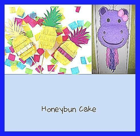 Photo of Honeybun Cake – Sugar Skull Mini Piñata SET OF SIX Favors for Fiesta Decorati…