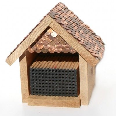 Penny Bee House DIY Instructions And Ideas For Awesome Custom Houses Mason Bees