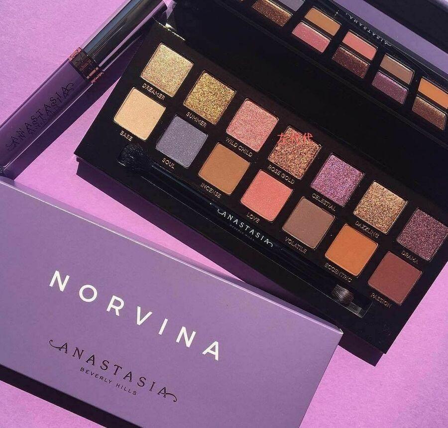 Brand New ANASTASIA BEVERLY HILLS NORVINA Eye shadow Make
