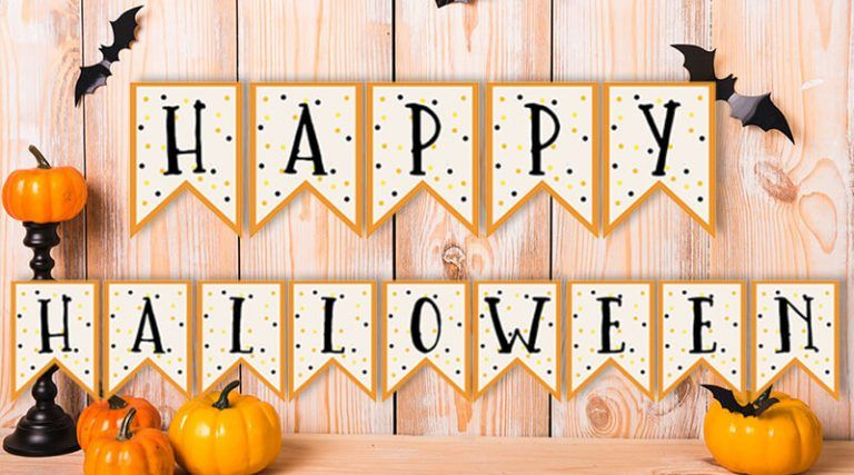 picture about Free Printable Halloween Banner identify No cost Printable Halloween Banner Boo Celebration Programs Halloween