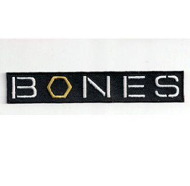 Tv Show Logos Details About Bones Tv Series Logo Embroidered Patch 4 5 Tv Show Logos Bones Tv Show Bones Tv Series