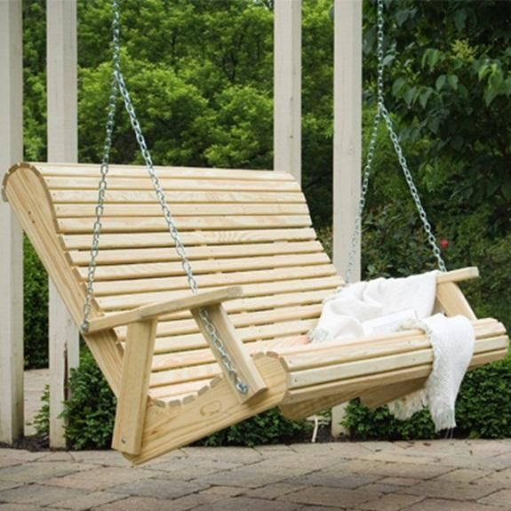 Swing plans free rollback porch swing plans woodworking for How to build a swing chair