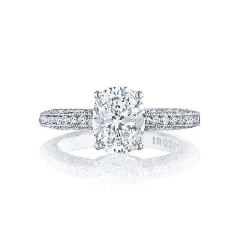 Style# HT2553OV9X7 - Classic Crescent - Engagement Rings - Tacori.com - gold