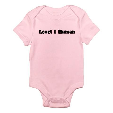 a7aa6842b Level 1 Human Infant Bodysuit Baby Light Bodysuit | Baby | Baby ...