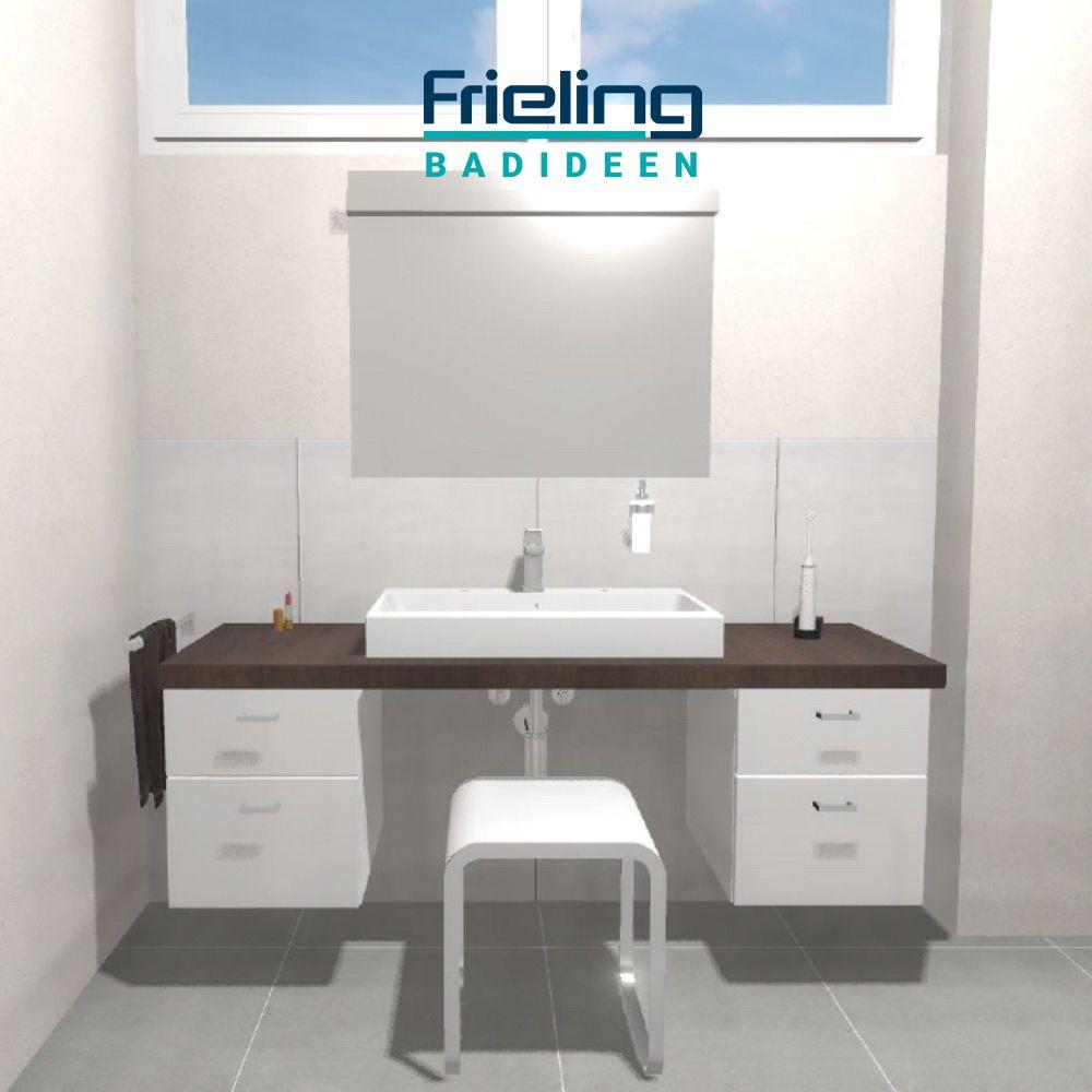 Das Barrierefreie Bad Mit Dusche Ansicht Waschtisch Barrierefrei Bad Barrieren Badezimmer Renovieren