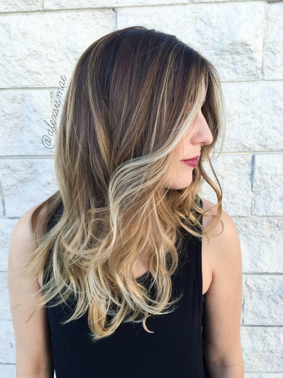 Alexsis Mae Fall Sombre Hair Color Ft New Redken Shades Eq 09p