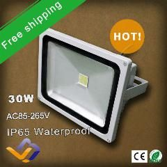 19 Off 2pcs Lot High Power Led Flood Light 30w White Red Blue Green Yellow Colorful Lighting Waterproof Outdoor L Flood Lights Led Flood Lights Led Flood