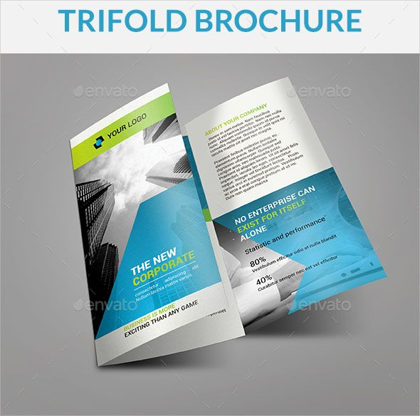 100 Free Editable Bifold Brochure Design Templates New