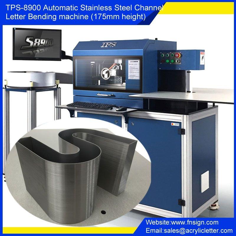 Tps S8900 Automatic Channel Letter Bender Machine Channel Letters Signage Design Neon Box
