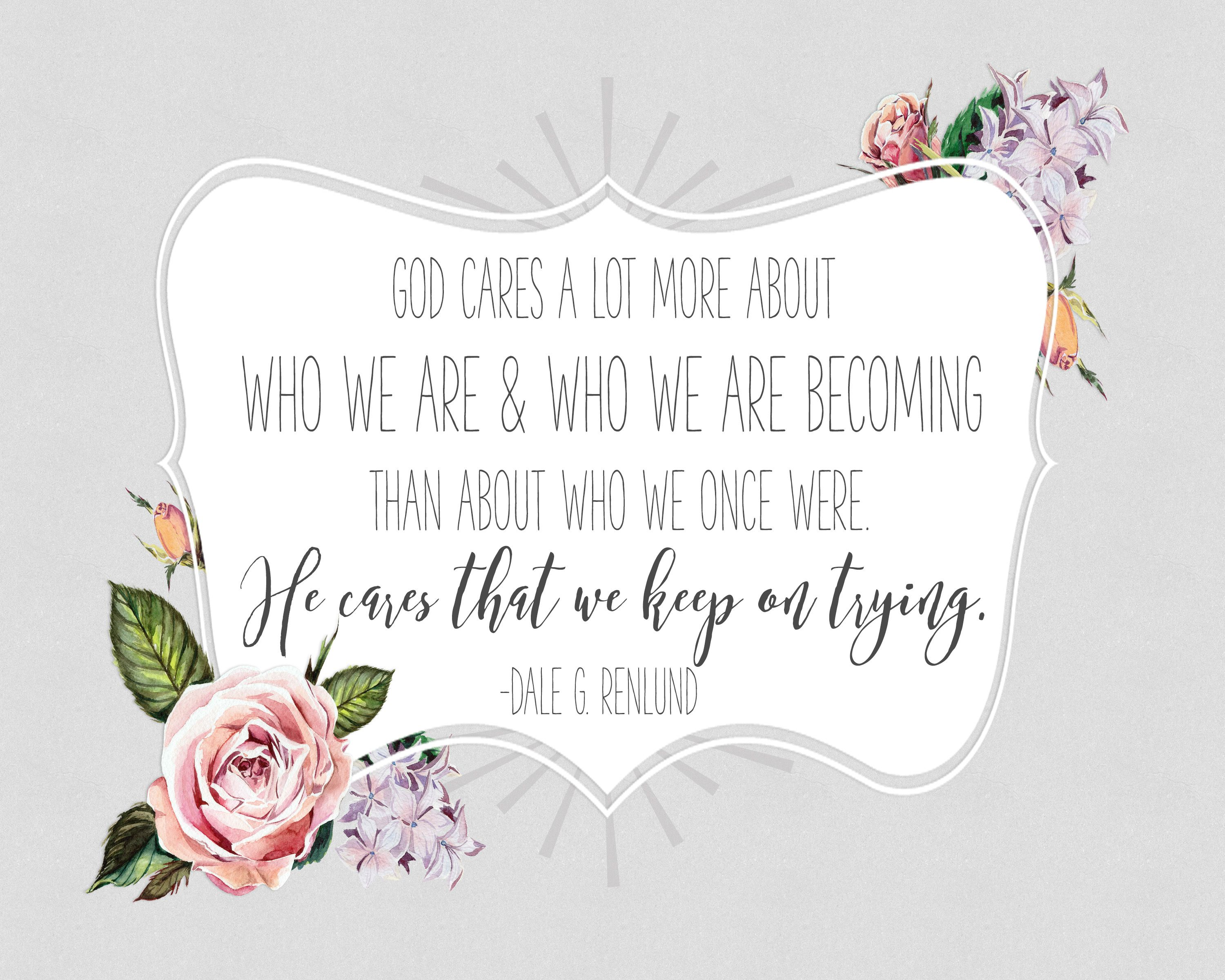Free Inspirational Quotes Free Inspirational Quote From Lds General Conference  Free