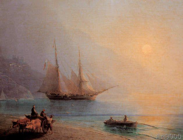 Ivan Konstantinovich Aivazovsky - Früher Morgen am Meer