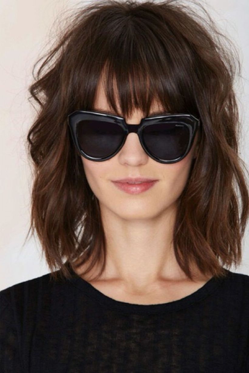 Pin By Fashion Best On Haircut And Style Pinterest Full Fringe