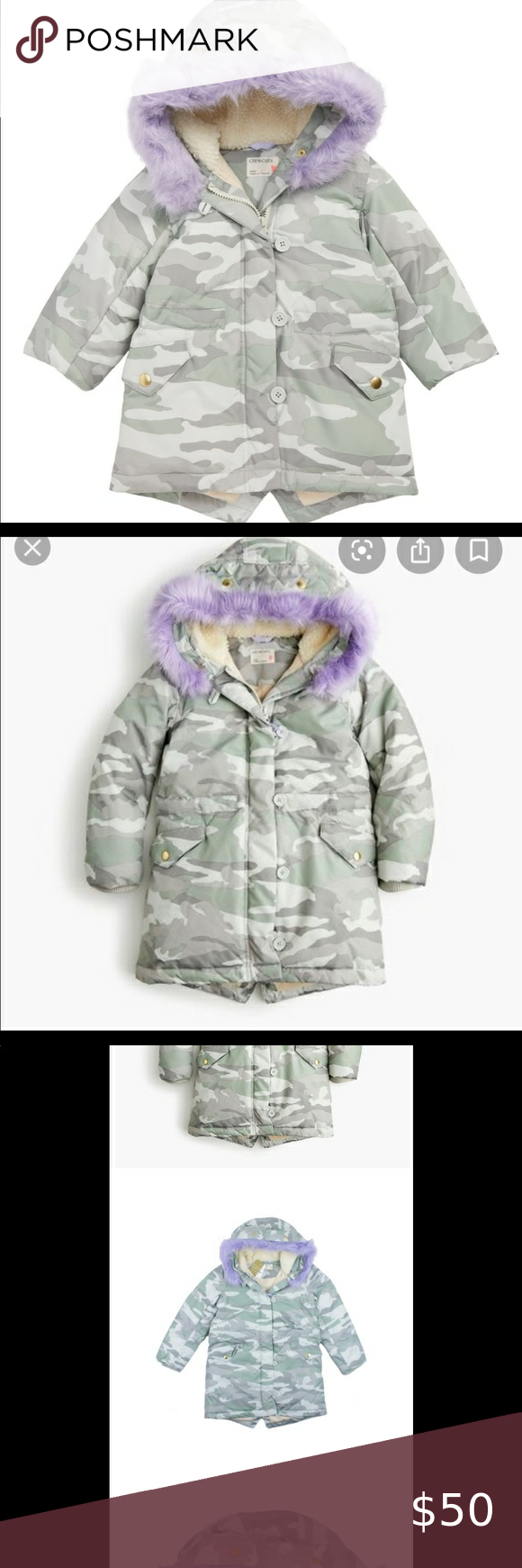 Crewcuts Camo Puffer Jacket Removable Lavender 10 Camo Puffer Jacket Puffer Jackets Crewcuts [ 1740 x 580 Pixel ]