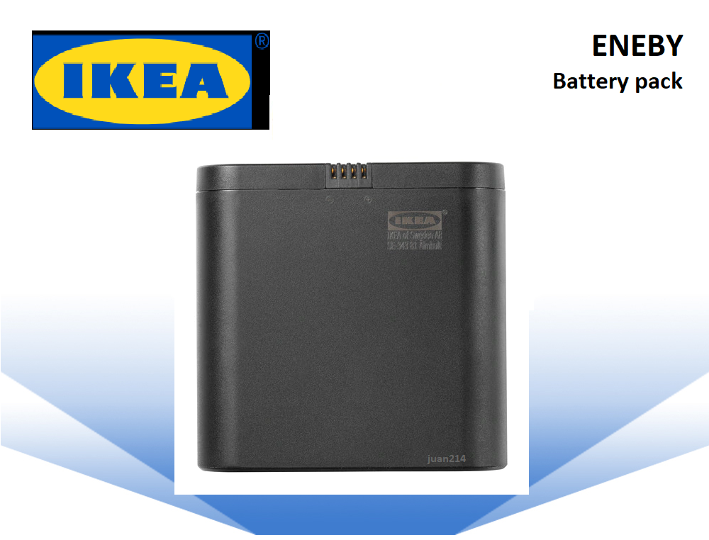 Ikea Eneby Rechargeable Speaker Battery Pack Black 204 142 64 Apartment Dorm Ebay Battery Pack Car Battery Battery