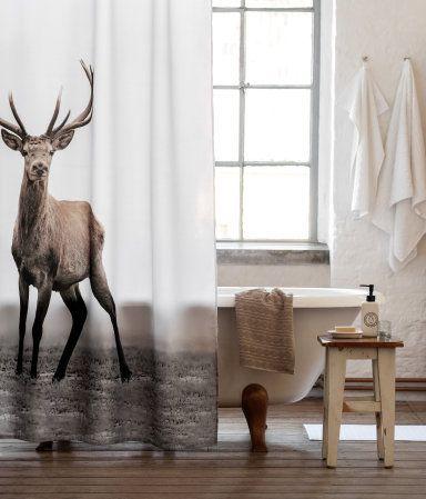 Shower Towel H M Home Douchegordijn Thuis Woonideeen