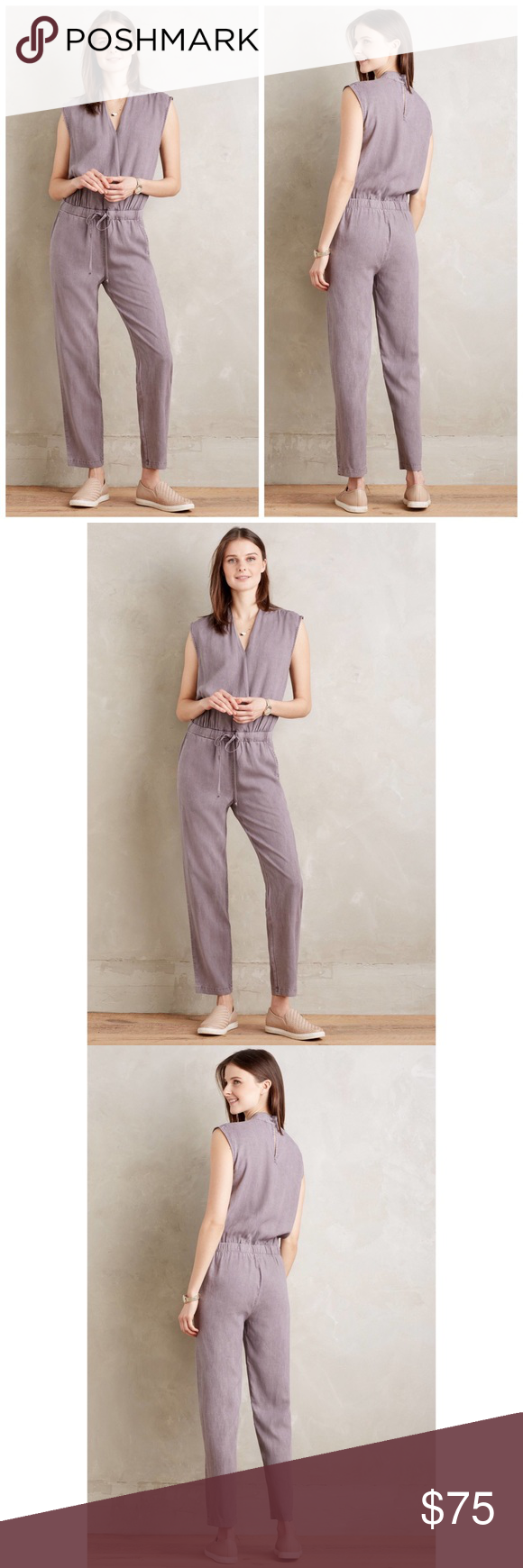 b64a69e83bf Cloth and Stone Mignon Jumpsuit Anthropologie Cloth and Stone Mignon Pants  Jumpsuit Anthropologie  160 retail brand new never worn perfect condition  Except ...